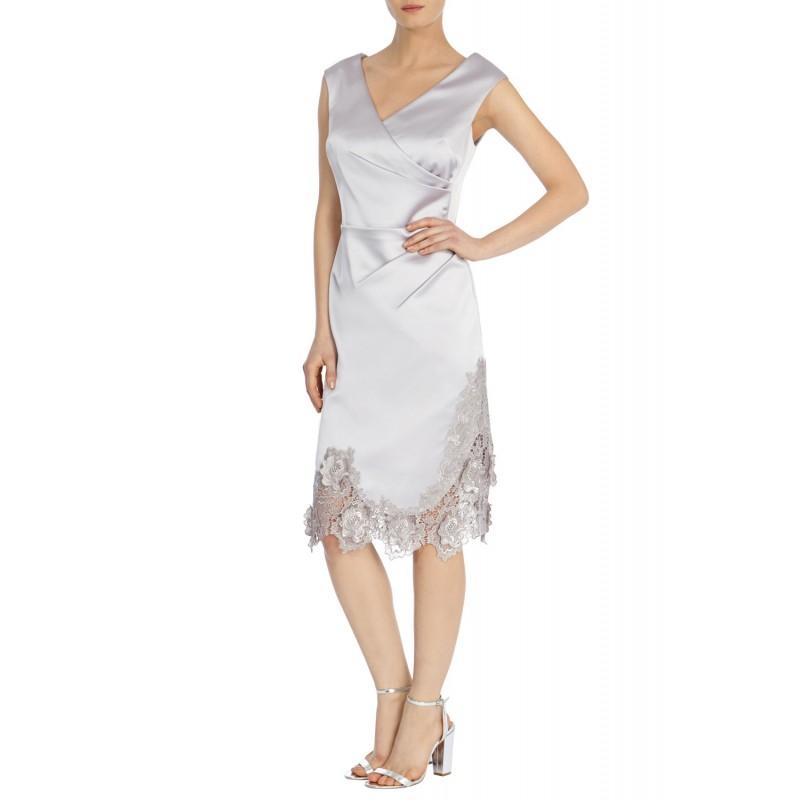 DELORES DUCHESS SATIN DRESS